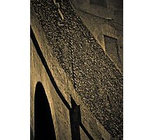 old wall angle Photographic Print