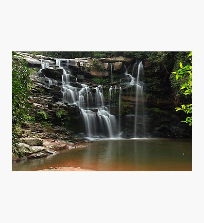 Waterfall in Paradise Photographic Print
