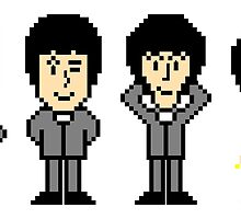 The Pixel Beatles by Chris Singley
