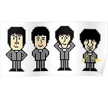 The Pixel Beatles Poster