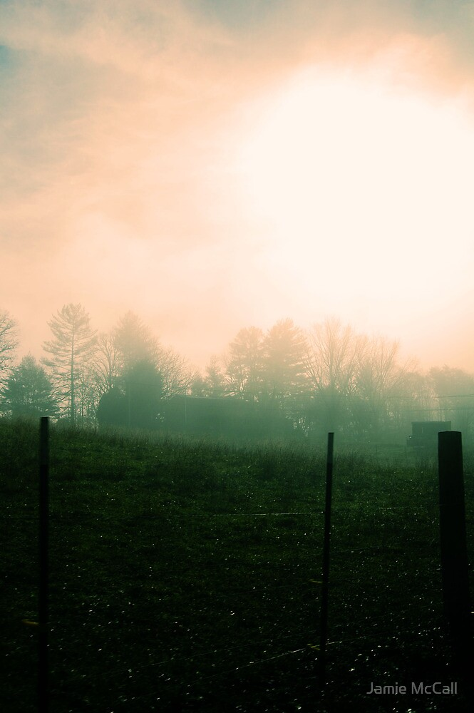 here comes ther fog 1 by Jamie McCall