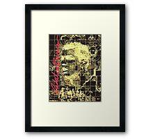 Gold Reynaldo Framed Print