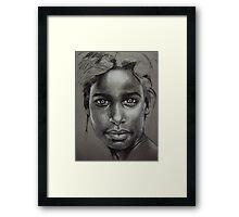 Dusty Framed Print