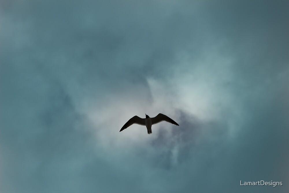 Heavenly Bird by LamartDesigns
