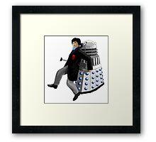 Doctor Who #2 and Dalek Framed Print