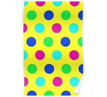 POLKA DOTTED-YELLOW 2 Poster