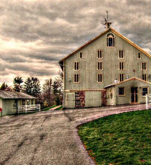 Barn, Eisenhower Farm, National Historic Landmark, Gettysburg PA by Jane Neill-Hancock