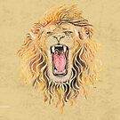 Swirly Lion by _ VectorInk