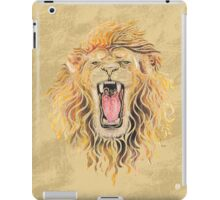 Swirly Lion iPad Case/Skin
