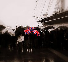 Union Jack Umbrellas by Karen Martin IPA