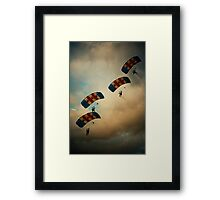 RAF Falcons Framed Print