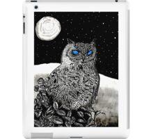 Spice Owl  iPad Case/Skin