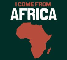 I come from Africa by Leslie  Tita