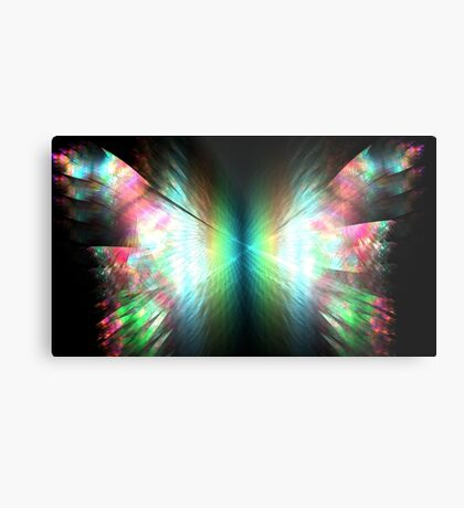 Prism Butterfly Metal Print