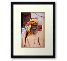 Yellow Is My Color Framed Print