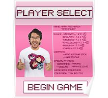 Markiplier Player Select Screen Poster