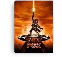 FOXTRON - Movie Poster Edition Canvas Print