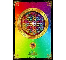 The Flower of Life Photographic Print