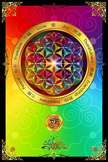 The Flower of Life by Lilyas