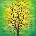 Green Tree by Lori Theim-Busch