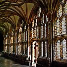 Coisters at Wells Cathedral by Photography  by Mathilde