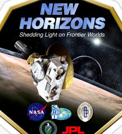 New Horizons Program Logo Sticker