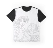 girl with the bike Graphic T-Shirt