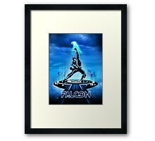 FALTRON - Movie Poster Edition Framed Print