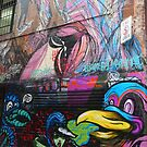 Graffiti V Melbourne by Margaret Morgan (Watkins)