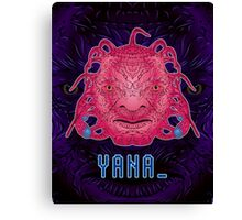Y A N A _ Face of Boe Canvas Print