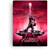 MARIOTRON - Movie Poster Edition Canvas Print