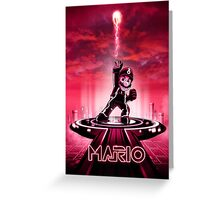 MARIOTRON - Movie Poster Edition Greeting Card