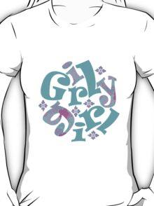 girly girl japanese print T-Shirt