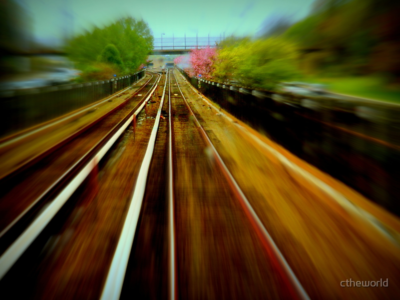 On the Tracks........  ^ by ctheworld