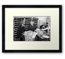 The local CWA Framed Print
