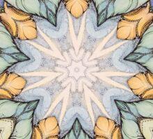 Vintage floral  pattern Sticker