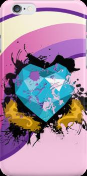 Cadance Splatter Mark (MLP:FiM) by pixel-pie-pro