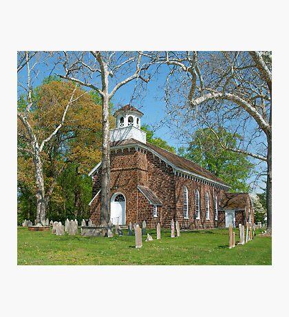 DEERFIELD PRESBYTERIAN CHURCH Photographic Print