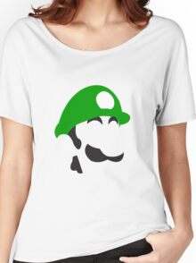 Simple Luigi Women's Relaxed Fit T-Shirt
