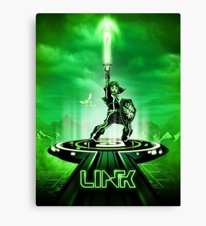 LINKTRON - Movie Poster Edition Canvas Print