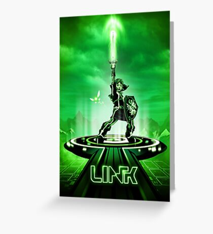 LINKTRON - Movie Poster Edition Greeting Card