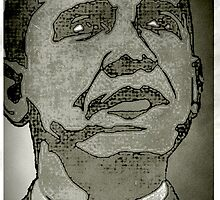 BARACK OBAMA-HOPE 2 by OTIS PORRITT