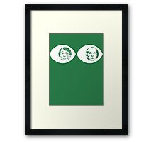 Peepers - Peep Show Framed Print