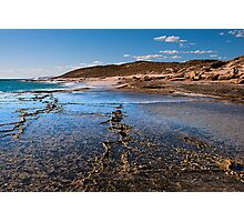 Oyster Reef - Gantheaume Bay - Kalbarri Photographic Print