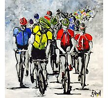 Peloton Photographic Print