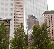Downtown Denver by Sherry Hallemeier