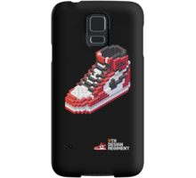 3D 8-bit Air Jordan 1 Samsung Galaxy Case/Skin