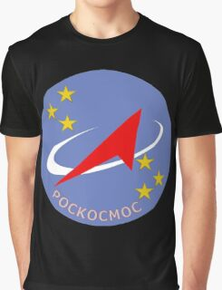 Roscosmos Fleet Patch Graphic T-Shirt