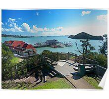 PAIHIA, BAY OF ISLANDS,  NEW ZEALAND......!  Poster