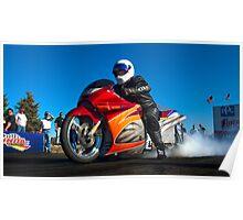 1500cc Big Block Kawasaki Poster